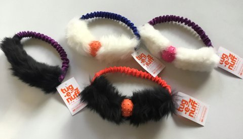 Tug-E-nuff - Sheepskin bungee ring without ball